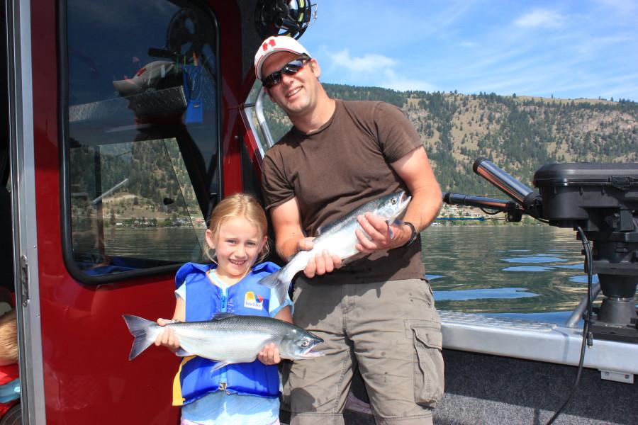 Rodney 39 s reel outdoors kokanee fishing charters for Sheldon lake fishing