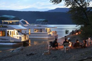 Camping and Fishing on Shuswap Lake
