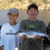 Tyrel and Dakota and a nice Okanagan Lake Kokanee.