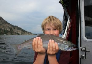 My first Okanagan Lake Kokanee!