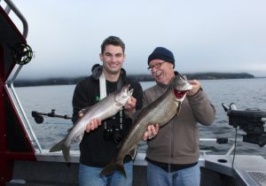 Luke & Craig of Ontario with some nice Lakers