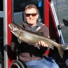 Harold of Kelowna with a Shuswap Lake Trout