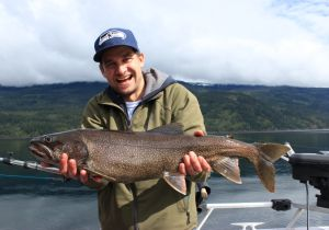 Nathan of Kelowna. Awesome Shuswap Laker!