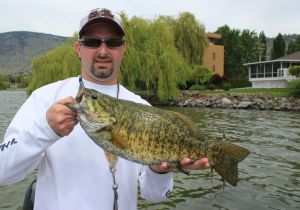 My good friend Mark with a beauty Osoyoos Lake Smallie!