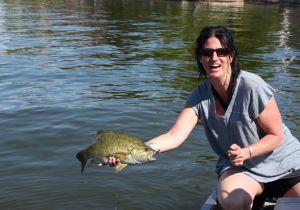 Osoyoos Lake Bass fishing. What a fight!