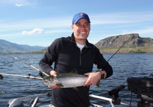 Beauty Osoyoos Lake Rainbow!