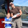 Sheldon & Summer with some good looking Kalamalka Lake Kokanee