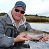Joe with a nice fly caught Brookie near Kelowna