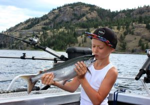 I love catching Kokanee!