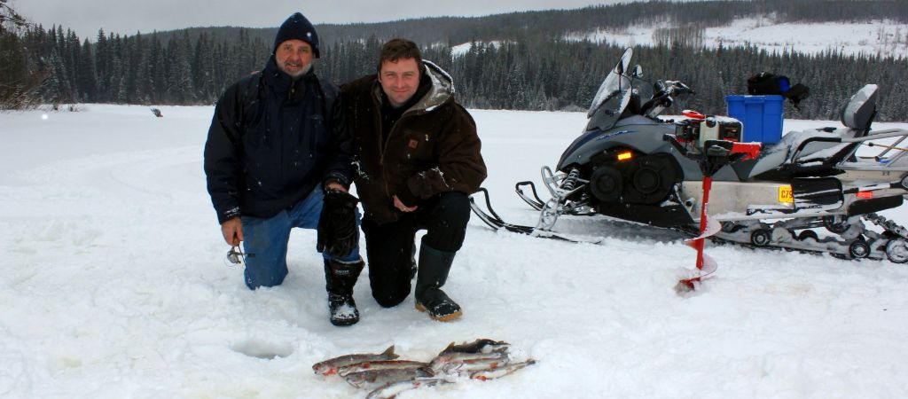 Ice Fishing Charters with Rodney's REEL Outdoors