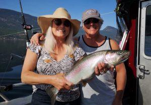 Couples Who Fish Together Stay Together! Okanagan Lake