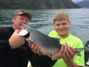 Kalamalka lake kokanee salmon