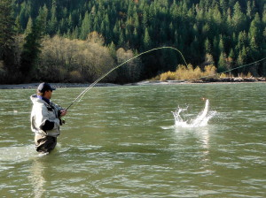 Rodney Hennig fly fishing
