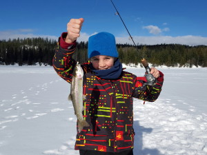 Ice Fishing in Vernon BC