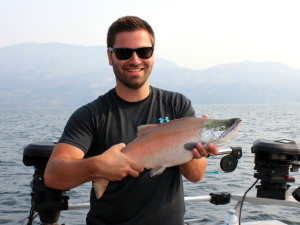Monster Kokanee caught on Okanagan Lake