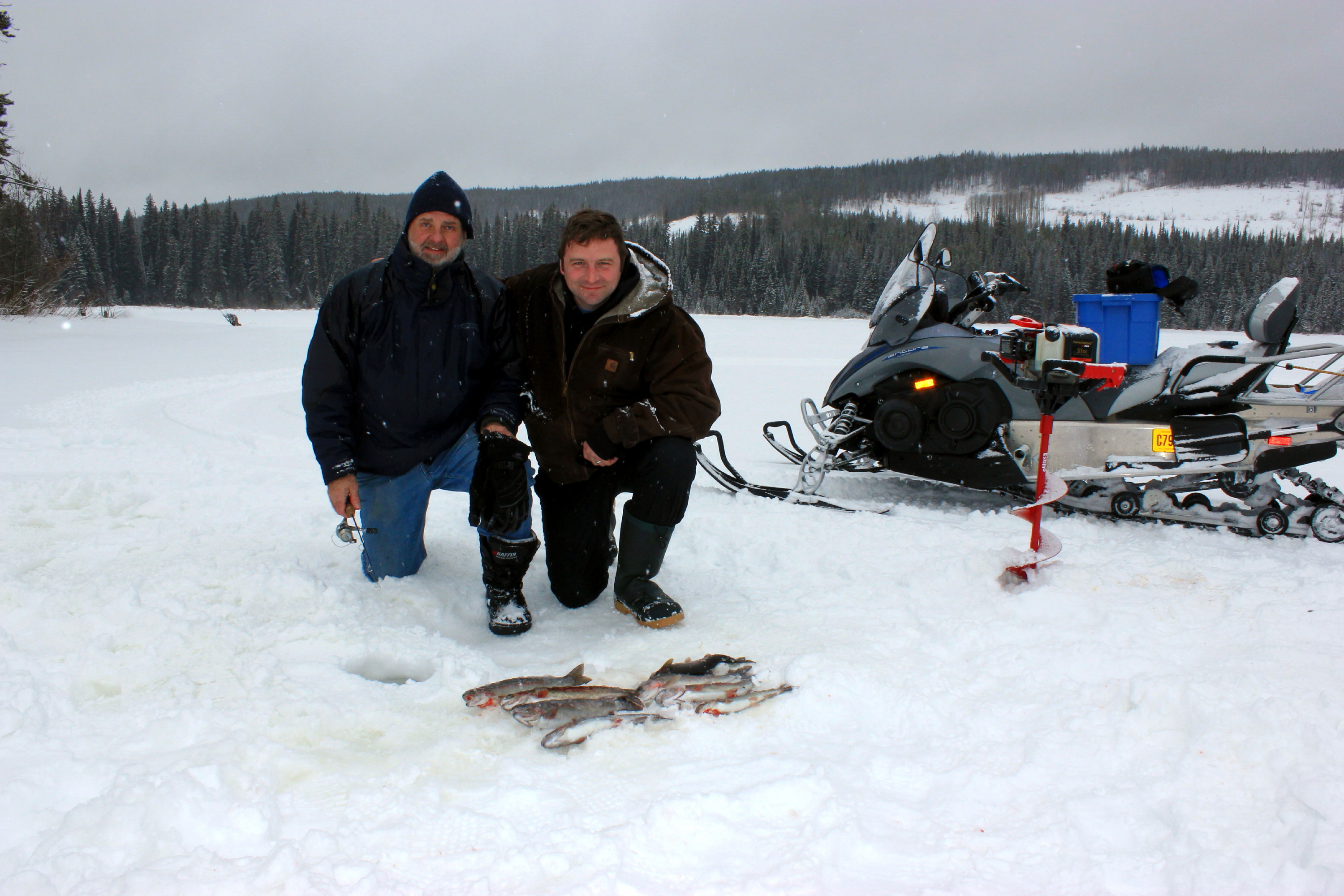 Ice Fishing Charters | Rodney's REEL Outdoors