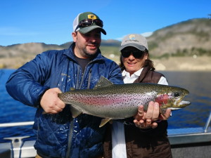 Monster Rainbow Trout from Skaha Lake BC
