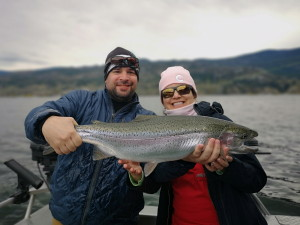 A guided charter on Skaha Lake
