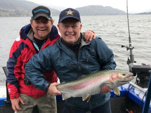 Skaha Lake Rainbow Trout near Penticton BC