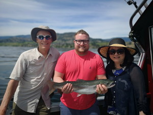 Okanagan lake rainbow trout