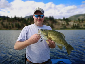 Monster smallmouth Bass from Osoyoos lake